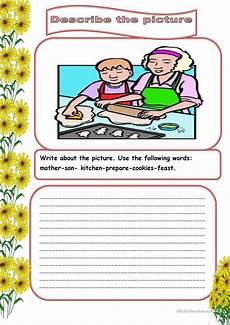 describing worksheets 15901 describe the picture2 worksheet free esl printable worksheets made by teachers