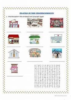 places in my neighbourhood worksheets 16015 places in our community worksheet free esl printable worksheets blocks worksheets