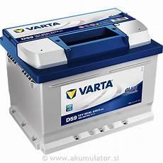 Akumulator Varta Blue Dynamic 60ah Akumulatorji Baterije
