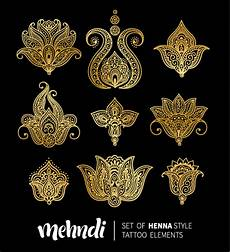 mehndi styles henna tattoo elements vector 11 free download