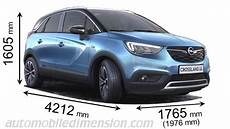 Opel Crossland X 2017 Dimensions Boot Space And Interior