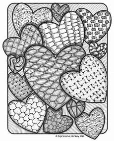 valentine hearts for coloring crafts coloring heart