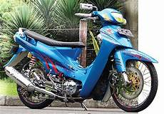 Modif Motor Shogun by Modifikasi Motor Bebek Shogun Dari Foto Gambar