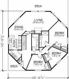 octagon shaped house plans octagon house floor plan 1 of 2 levels octagon house
