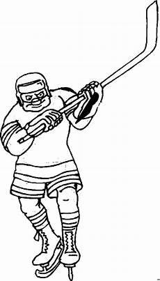 Gratis Malvorlagen Eishockey Eishockeyspieler Holt Aus Ausmalbild Malvorlage Sport