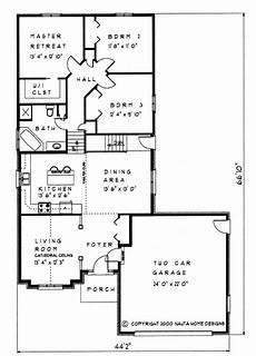 backsplit house plans 3 bedroom backsplit house plan bs119 1505 sq feet