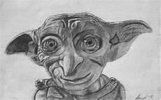 Malvorlagen Gesichter Harry Potter Dobby Bleistift Zeichnung 2015 Harry Potter Zeichnungen
