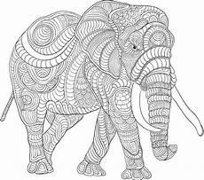 Malvorlage Erwachsene Elefant Elefant Ausmalbilder Zum Ausdrucken Elefant Ausmalbild