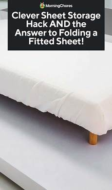 how to fold a fitted sheet easily and store them neatly