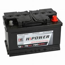 hr hipower autobatterie 12v 75ah batterie24 de