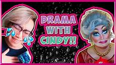 drag queen starts drama with readwithcindy booktube