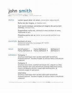 50 free microsoft word resume templates for download microsoft word resume template acting