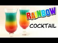 Rainbow Cocktail Mit Ohne Alkohol M 246 Glich I Rainbow