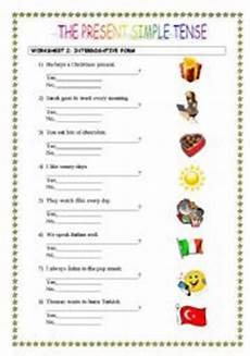 interrogative form the present simple tense esl worksheet by monaroza61