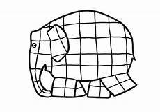 elmer elephant coloring page clipart best