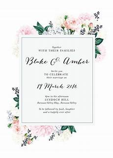online shop floral wedding invitations in 2019