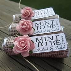 wedding favors of 100 mint rolls mint by babyessentialsbymel