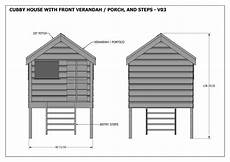build your own cubby house plans cubby house v03 ezebuilt