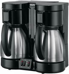 krups f 324 42 doppel kaffeeautomat chrom schwarz