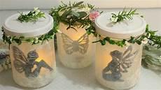 Diy Leuchtende Deko Gl 228 Ser Feen Laternen Jars