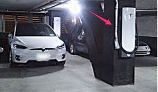 tesla s supercharger can be wall mounted and