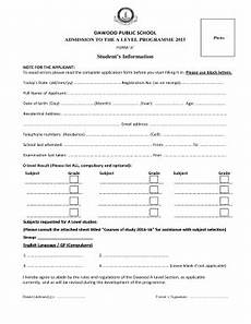 school admission form pdf fill online printable fillable blank pdffiller