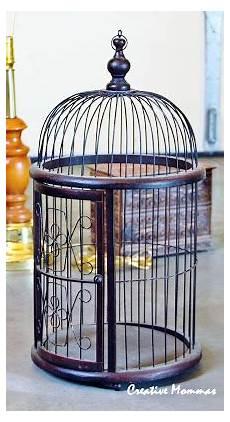 creative mommas bird cage decor
