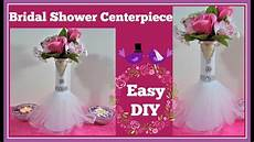 bridal shower wedding centerpiece diy project youtube