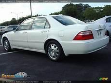 2004 acura rl 3 5 premium white pearl parchment photo 5 dealerrevs com