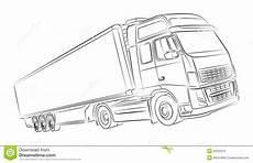 european truck illustration stock photo image 32022210