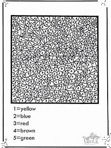 color by number worksheets advanced 16067 pin on printable crafts for