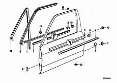 original parts for e30 320i m20 2 doors bodywork door