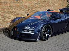 Bugatti Veyron Length by 2014 Used Bugatti Veyron Grand Sport Vitesse Blue Black