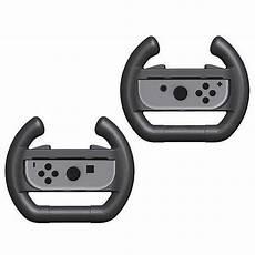Handle Steering Wheel Nintendo Switch by 2pcs Con Steering Wheel Grip Handle Controller For