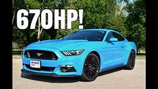 ford mustang gt 2017 2017 ford mustang gt w roush supercharger driving review