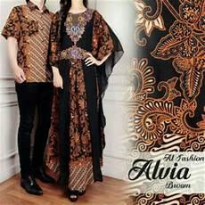 jual baju murah terlaris pakaian pasangan pria atasan cp batik brown alviaa murah fashion