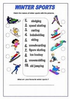 winter sports worksheets 15893 teaching worksheets winter sports