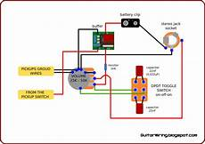 the guitar wiring blog diagrams and tips quite simple active guitar wiring for clean signal