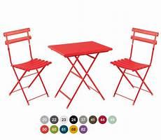 table et chaise de terrasse lot de 2 chaises pliante et d un table pliante 70x50 cm