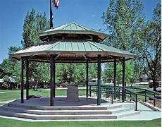 Steel Frame Roof Santa Fe Octagon Pavilions