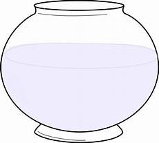 Fishbowl Clipart Glass Bowl Clip Vector Clip