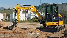 mini pelle jcb bauma 2016 nouvelles mini pelles jcb de 4 224 6 tonnes