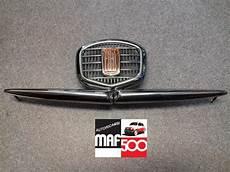 fregio anteriore in metallo cromato fiat 500 f ricambi