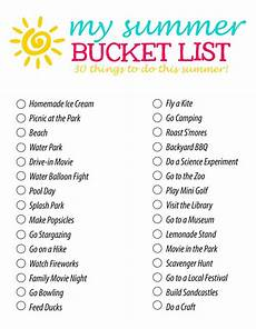 activity list summer bucket list 30 fun summer activity ideas for