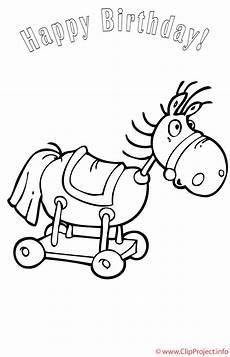 Ausmalbilder Pferde Geburtstag Pferd Ausmalbild Kostenlos