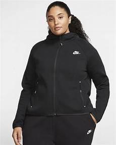 nike sportswear tech fleece s cape plus size nike ie