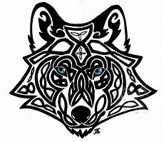 celtic wolf by neodragonarts on deviantart