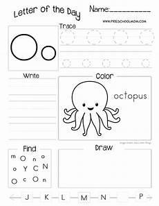 letter of the day printable worksheets subscriber freebie