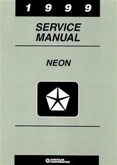 free service manuals online 1996 dodge neon parental controls dodge neon service manual 1999