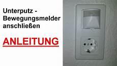 lichtschalter unterputz unterputz bewegungsmelder f 252 r innen anschlie 223 en